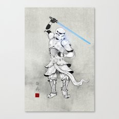 Samurai Trooper Canvas Print