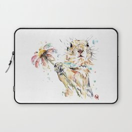 Gopher Colorful Watercolor Painting Laptop Sleeve