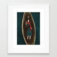 Framed Art Prints featuring Bear by Alexandra Dvornikova