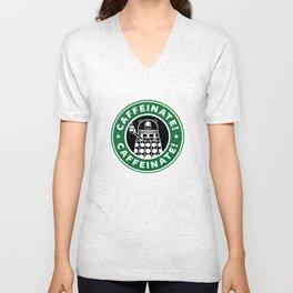 Dalek Caffeinate Unisex V-Neck