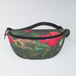 Faded Floral Fanny Pack