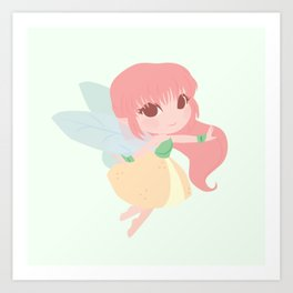 Fruit Fairy Art Print