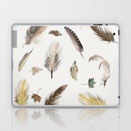 inner nature (feathers and leaves Laptop & iPad Skin