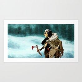 Northern Warrior Art Print