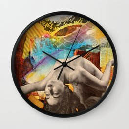 Piecing Yourself Back Together  Wall Clock