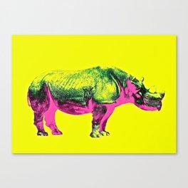 rhino /1 Canvas Print