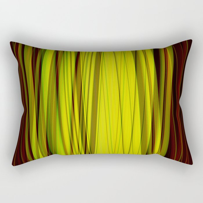 Deep in the jungle Rectangular Pillow