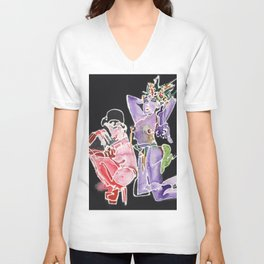 Showgirls Unisex V-Neck