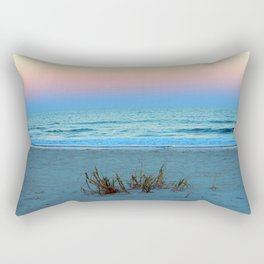 Seaside Sunset Rectangular Pillow