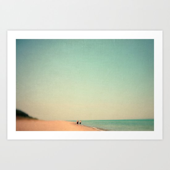 Two By Sea Art Print