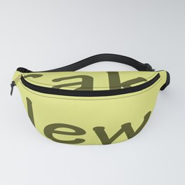 Cake News - Allusion to May in Salzburg Fanny Pack