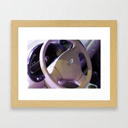 Chery QQ Electric Steering Wheel II Framed Art Print