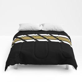 Team Colors 4...black, gold Comforters