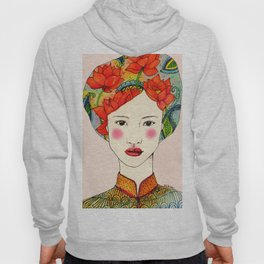 lotus girl Hoody