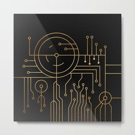 Requisite Embrace Metal Print