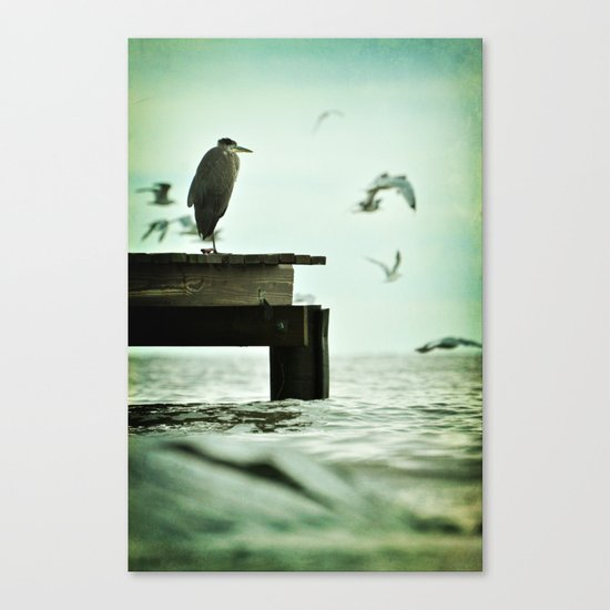Leaning Into Afternoons Canvas Print