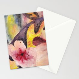 Flower experiment Stationery Cards