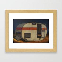 Dead Caravan Framed Art Print
