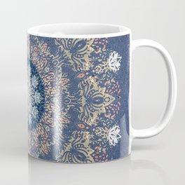 Blue's Golden Mandala Coffee Mug