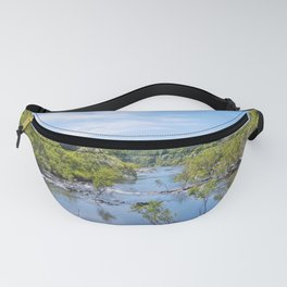 Beautiful tranquil river in the tropics Fanny Pack