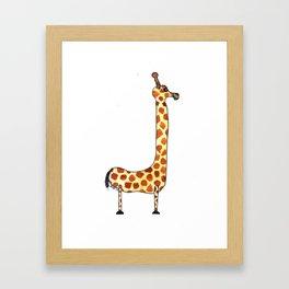 Jaxon - Animal Letter Framed Art Print
