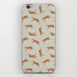 Tiger Trendy Flat Graphic Design iPhone Skin