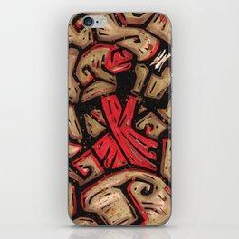 Orixás - Xango iPhone Skin