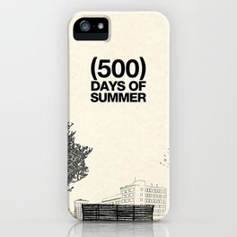 (500) Days of Summer iPhone Case