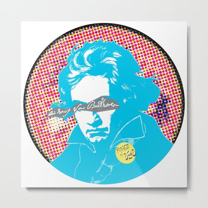 Ludwig van Beethoven 17 Metal Print
