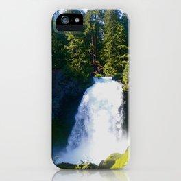 Gushing Waterfall iPhone Case