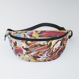 Abstract Background Fanny Pack
