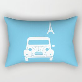 Citroen 2CV Rectangular Pillow