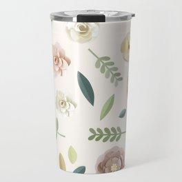 Floral Illustration Travel Mug