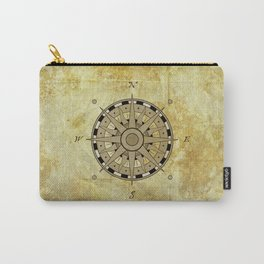 Compass Rose Carry-All Pouch