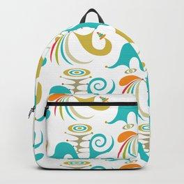democracy white Backpack