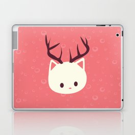 Reindeer Cat Laptop & iPad Skin