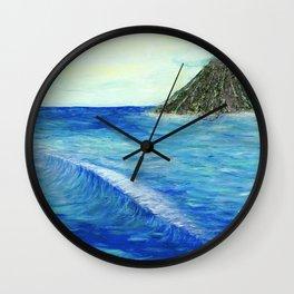 Old Hawaii 2 of 3 Wall Clock