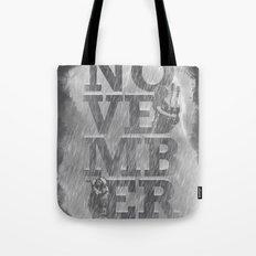 November Rain Tote Bag