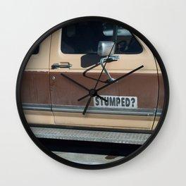 Brap Brap Wall Clock