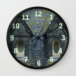 Private eyes are watching you! Wall Clock