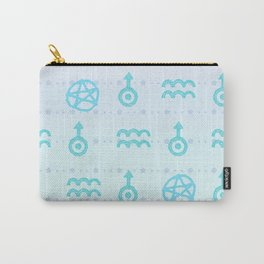 Pastel Aquarius Carry-All Pouch