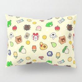 ac cute pattern baby yellow Pillow Sham