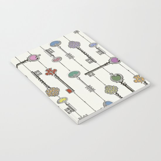 Love is the Key Notebook