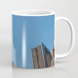 Buildings with blue sky Coffee Mug