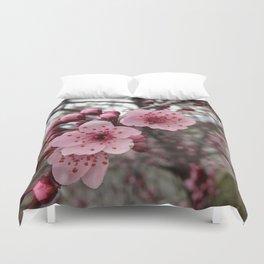 Fall Blossoms Duvet Cover