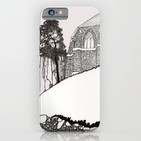 St. Vigeans (black and white) iPhone & iPod Case