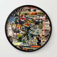 safari Wall Clocks featuring Safari by Katy Hirschfeld