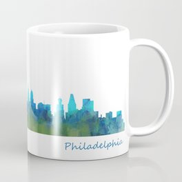 Philadelphia City Skyline Hq V1a Coffee Mug