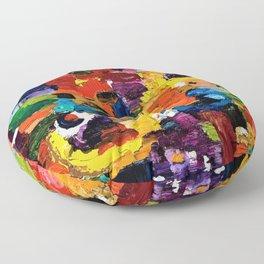 Color Brick Road Floor Pillow
