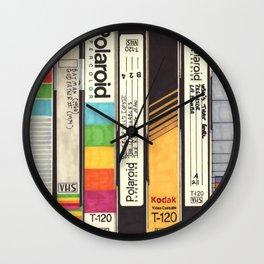 VHS Detail I Wall Clock